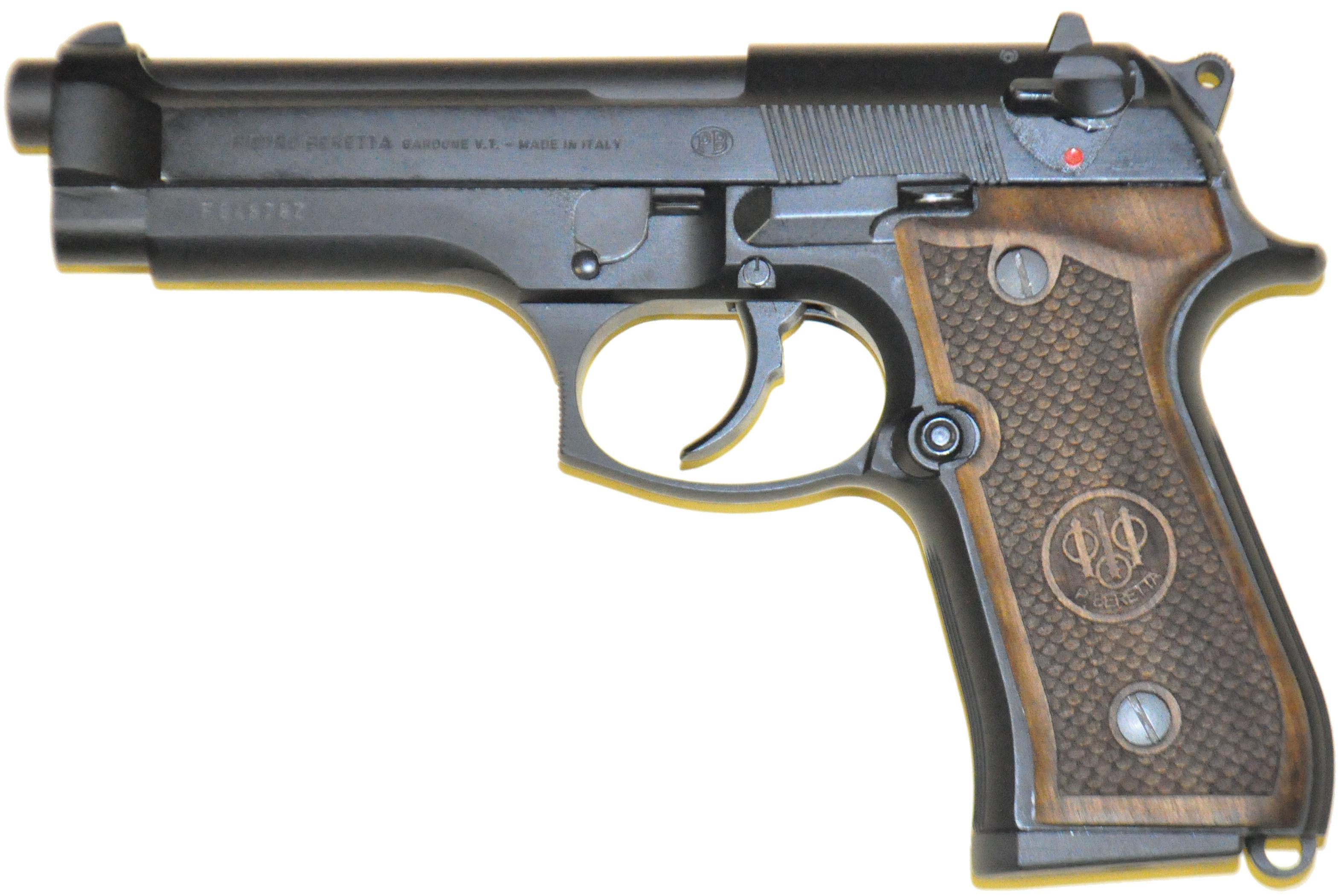Beretta 92 grips flakes logo