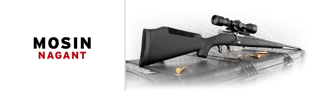 Mosin Nagant Polymer stock Black