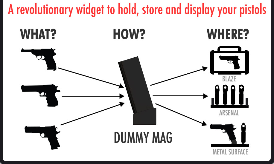 Dummy Mag Black GP