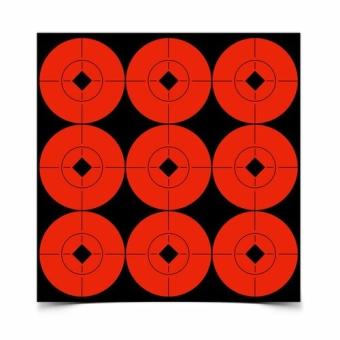 Target Spots Red 90-2""
