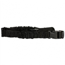 One Point Bungee Rifle Sling Black