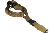 One Point Bungee Rifle Sling Tan