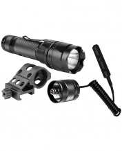 500 Lumens Weapon Flashlight Pack Black
