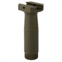 Dark Green Vertical Polymer Front Grip